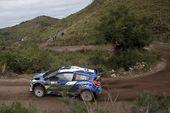 图文:WRC拉力赛阿根廷站 皮特-索尔伯格赛车
