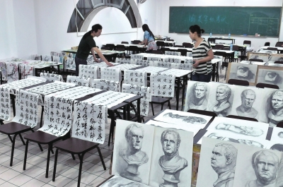 """三天的""""五一""""小初中,所有中国美术学院长假适逢首次登陆麦积.几区考级榕城美术图片"""