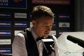图文:亨德利正式宣布退役 最后的世锦赛发布会