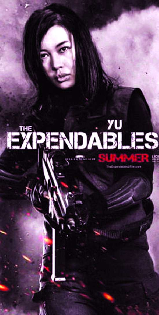 余男/好莱坞电影《敢死队2》将于暑期档8月17日全球公映。