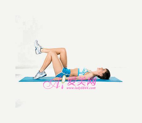 瘦腿最有效的方法 简单抬抬腿 纤腿轻松塑