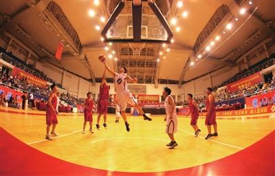 萧山业余篮球联赛昨落幕(图)