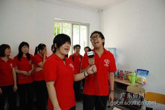华文幼师班教学生动活泼 媒体团采访意犹未尽