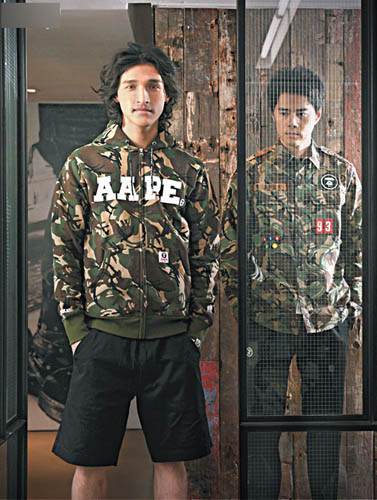 aape by a bathing ape新品到