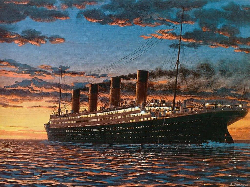 泰坦尼克号电影剧照