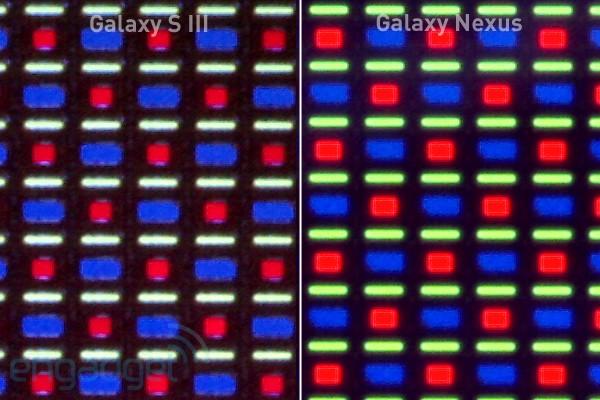 显微镜下看三星 Galaxy S III:依然是 PenTile!