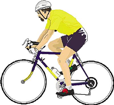 卡通 漫画 头像 自行车