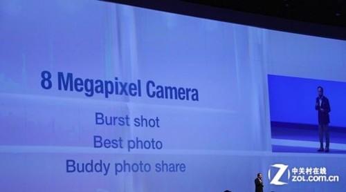 三星GALAXY SIII配备800万像素摄像头