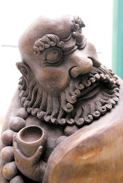 石市竹木雕作品