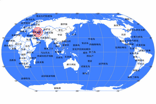 中新网5月7日电据中国地震台网测定,北京时间2012年5月7日12时40分在阿塞拜疆(北纬41.5,东经46.7)发生6.0级地震, 震源深度20公里。