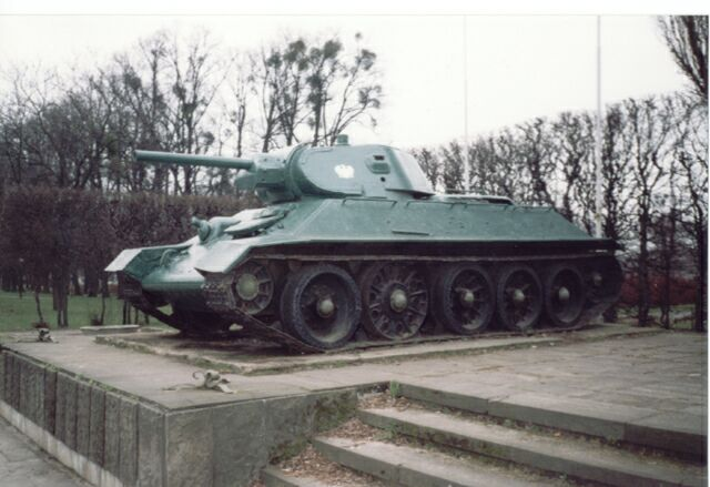 t-34/85 坦克