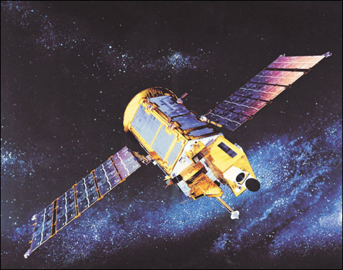 """资料图:""""阿里郎2""""号卫星"""