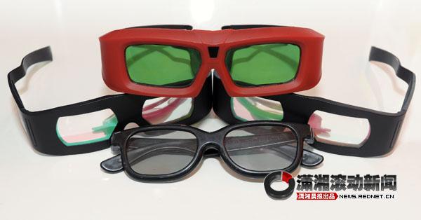 (医生建议,市民看3D电影最好带一块酒精纱布。图/潇湘晨报滚动新闻记者 巩如泉)