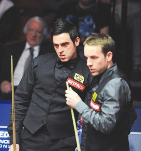 昨晨斯诺克世锦赛决赛,奥沙利文再次击败好朋友卡特夺冠。
