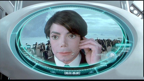 《黑衣人2》MJ客串镜头