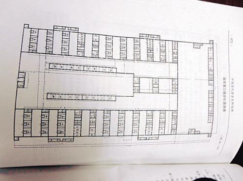中国 北大营/早期北大营营房的平面图