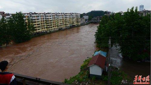 湖南省应急厅:暴雨洪涝灾害共造成11个市州81个县市区受灾