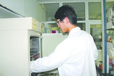 ⑥用保鲜膜封住两锥瓶的口,放入培养箱发酵。