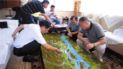 专案组在境外部署抓捕糯康计划。警方供图