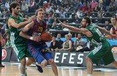 组图:欧冠篮球巴萨夺得季军 英格尔斯无敌突破