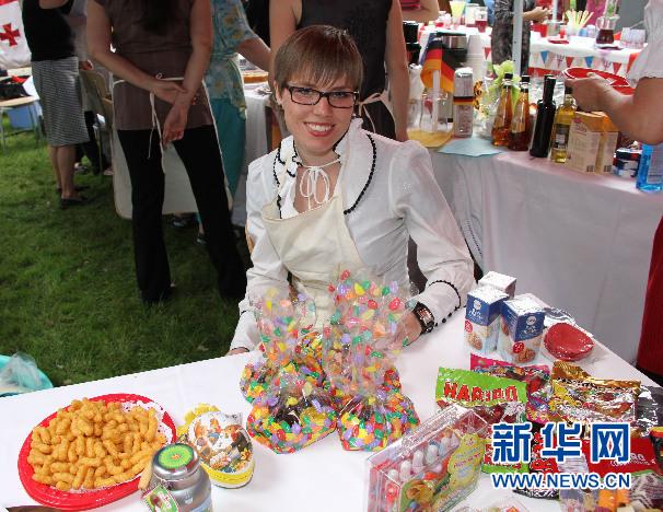 别开生面的驻乌兹别克斯坦外国使团民族美食节