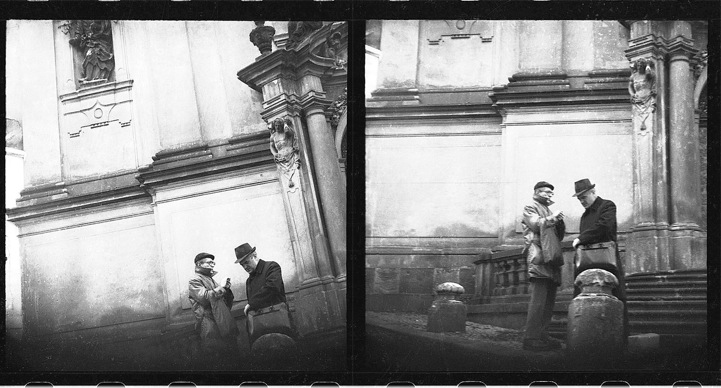 历史照片:布拉格秘密警察监视照-历史记录 国外间谍真实写照图片