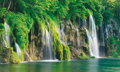 (Plitvice-Lakes-National-Park)湖群国立公园