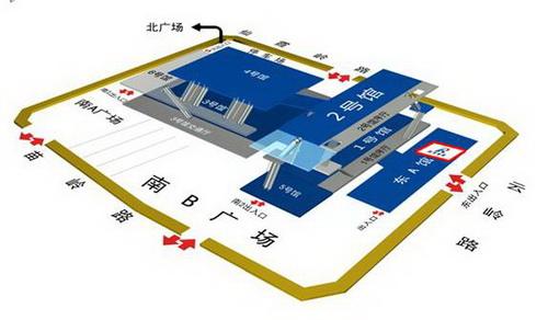 润华集团综合展位示意图:青岛国际会展中心东广场—润华集团活动区