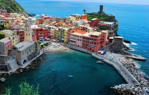 (Cinque Terre,Italy)神秘的五渔村