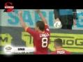 进球视频-拉梅拉弧线球直挂死角 切塞纳1-2罗马