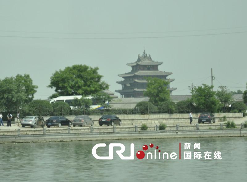 聊城/通往聊城古城的21孔桥,象征21世界