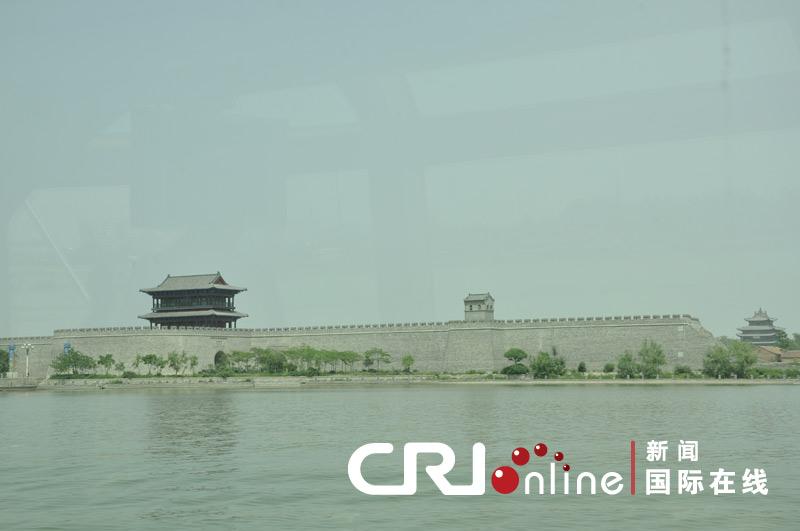 聊城/坐落在水中央的聊城古城