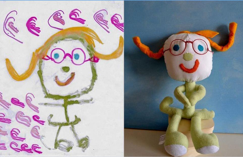 宝宝涂鸦变身玩具 创意奇特供不应求(组图)
