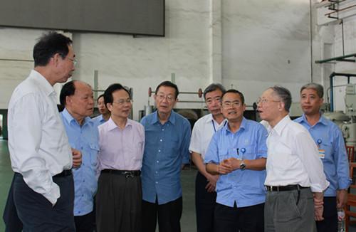 中国 贵州/院士专家团参观中航工业贵州黎阳航空发动机(集团)有限公司
