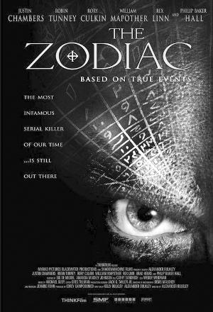 好莱坞根据真事拍摄的悬疑电影《十二宫杀手》电影海报