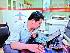 刘猛长期在地震灾区工作。