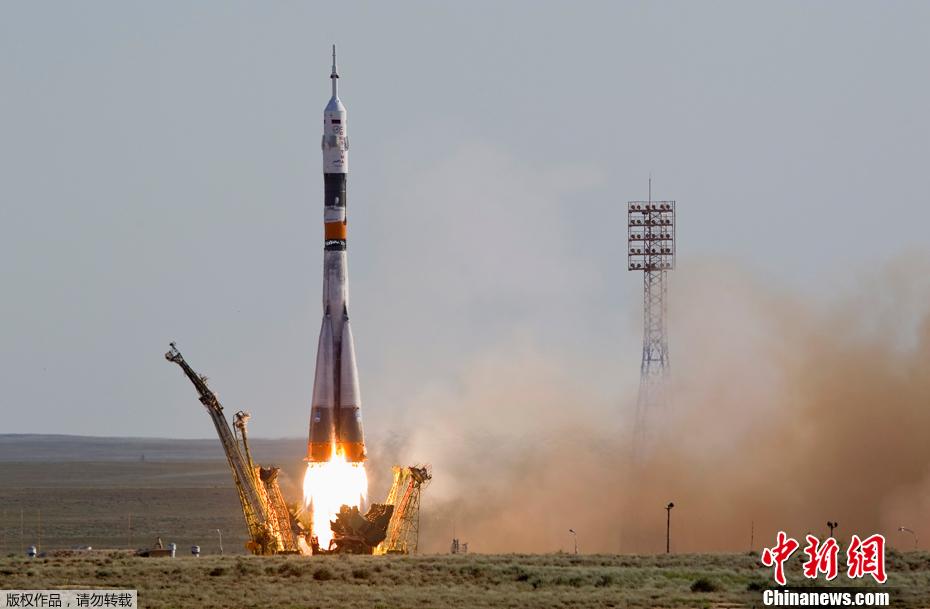 俄 联盟 号载人飞船发射升空图片 86250 930x609