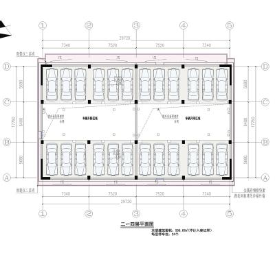 停车场停车位尺寸设计需注意什么 停车场停车位尺寸图片