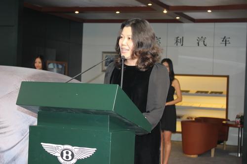 宾利青岛总经理林海燕女士图片