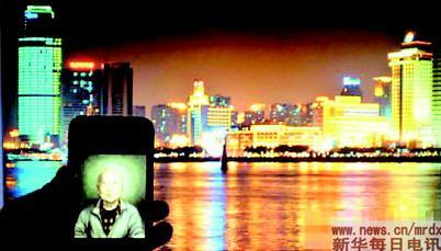 世界各地的网友传回的部分照片(5月15日摄)。