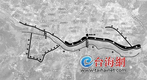 造23公里绿色慢行道 一步一景高清图片