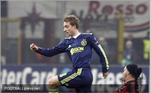 埃里克森 米兰/20岁的埃里克森目前是欧洲转会市场的大红人。