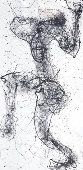 舞蹈房手绘线稿高清图