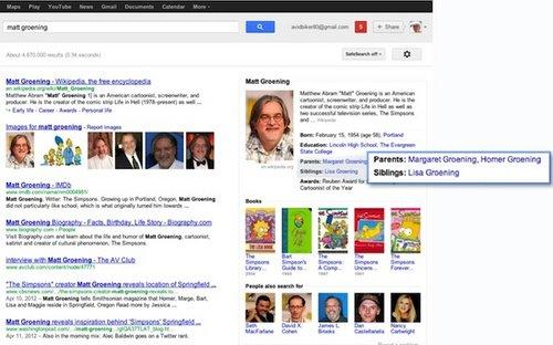 Google推出知識圖譜 搜索模式迎來大變革
