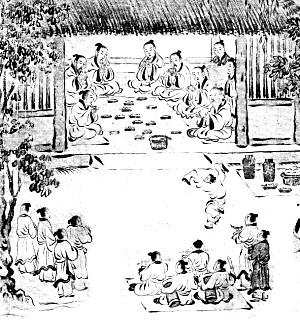 众所周知,中国古代是一个讲求礼仪,崇尚和谐的社会.