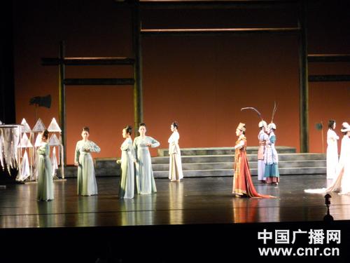天天向上之汉唐乐府_汉唐乐府南管古典乐舞团在京演出获成功(图)