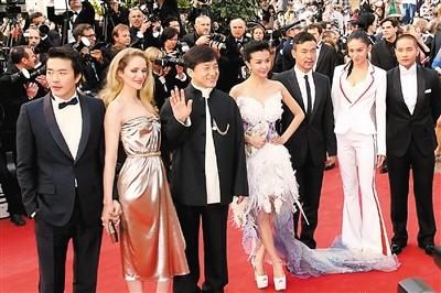 成龙携新片《十二生肖》亮相戛纳电影节(图)图片