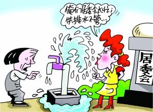 水龙头出现 浪费现象 如此 浪费 了大量的水 浪费