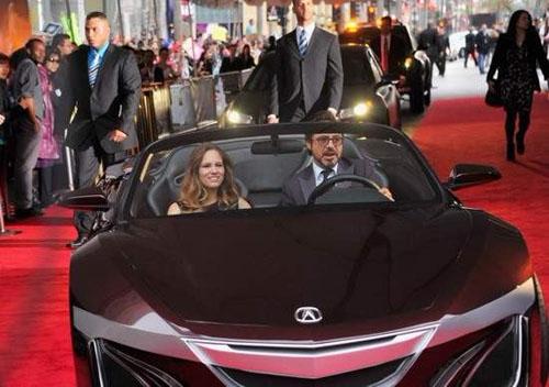 复仇者联盟 讴歌跑车 美国式超级英雄高清图片