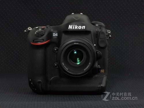 图为:尼康单反相机D4